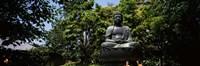Framed Buddha in Asakusa Kannon Temple, Tokyo Prefecture, Japan