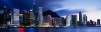 Framed Central District, Hong Kong, Asia