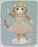 Framed Ballerina Animal IV