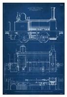 Framed Locomotive Blueprint II