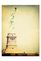 Framed Statue Liberty 1