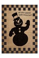 Framed Burlap Christmas 2