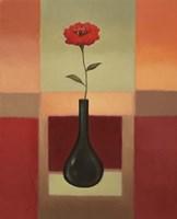 Framed Black Vase 2