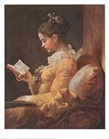 Framed Girl Reading