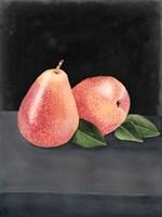 Framed Fruit on Shelf VI