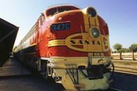 Framed Santa Fe Railroad