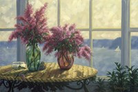 Framed Fresh Lilacs