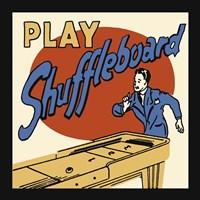 Framed Play Shuffleboard
