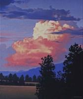 Framed Evening Clouds