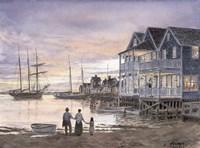Framed Nantucket Sunset