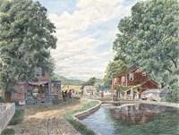 Framed Summertime, Morris Canal