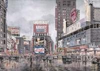 Framed Times Square, New York