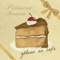 Framed Gateau au Cafe