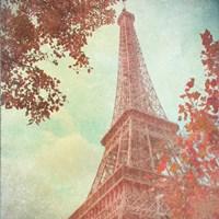 Framed April in Paris I