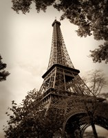 Framed Last Day in Paris I