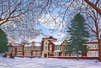 Framed Eden Central School, Eden, Ny