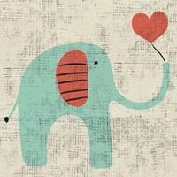 Framed Ada's Elephant