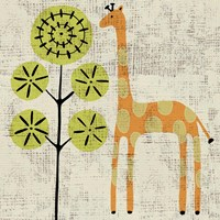 Framed Ada's Giraffe