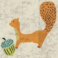 Framed Ada's Squirrel