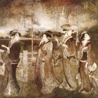 Framed Eastern Gathering