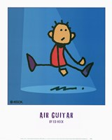 Framed Air Guitar