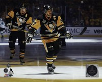 Framed Sidney Crosby Game 2 of the 2016 Stanley Cup Finals