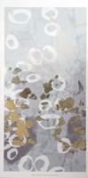 Framed Golden Dropplets II - Metallic Foil