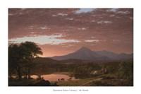 Framed Mt. Ktaadn, 1853