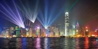 Framed Symphony of Lights, Hong Kong