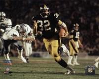 Framed Franco Harris Super Bowl XIII Action
