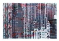 Framed Hong Kong Sky 7