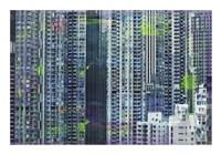 Framed Hong Kong Sky 6