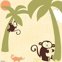 Framed Baby Jungle II