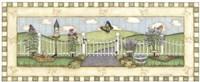 Framed Butterfly Fence