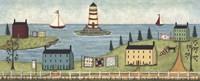 Framed Lighthouse Island