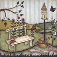 Framed Garden Restores The Soul