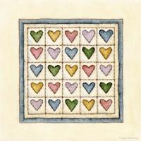 Framed Hearts Patchwork