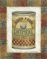 Framed Good Food Oatmeal