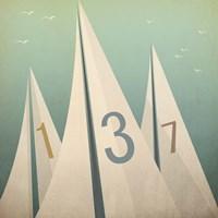 Framed Sails VII