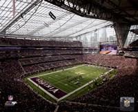 Framed U.S. Bank Stadium 2016