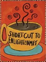 Framed Shortcut To Enlightenment (Border)