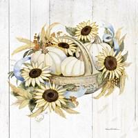 Framed Autumn Elegance IV Gold