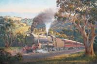 Framed Western Express