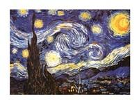 Framed Starry Night, c.1889