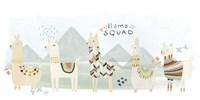 Framed Llama Squad III
