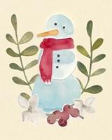 Framed Snowman Cut-out I