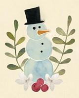 Framed Snowman Cut-out II