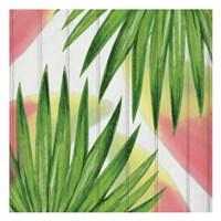 Framed Tropical  Leaves 1