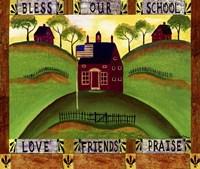 Framed Bless our School