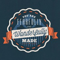 Framed Fearfully Made - Boy